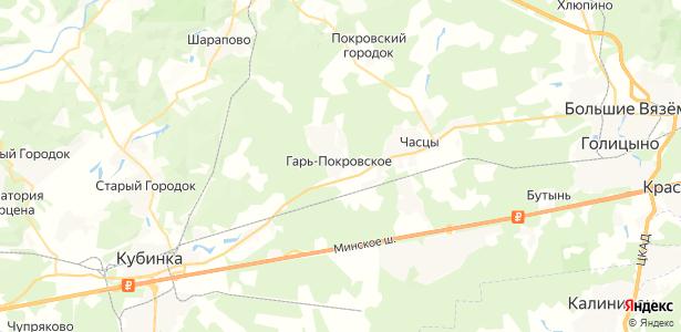 Гарь-Покровское на карте