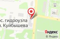Схема проезда до компании Почтовое отделение №143513 в Гидроузлах им. Куйбышева