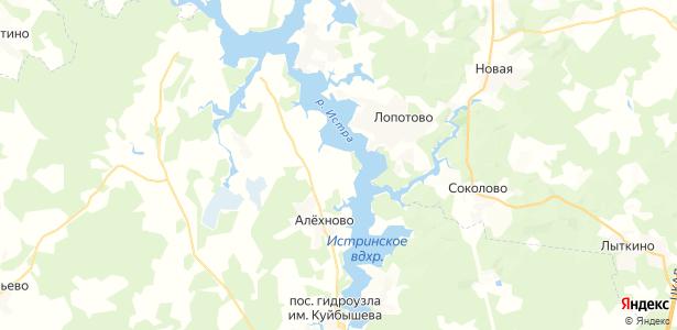 Лечищево на карте
