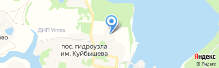 Бужаровская амбулатория на карте Гидроузл им. Куйбышева