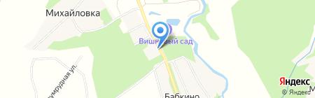 Магазин строительных и отделочных материалов на карте Бабкиного