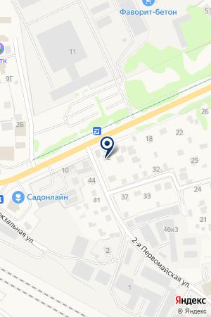 ПТФ ГАМЕМ на карте Истры
