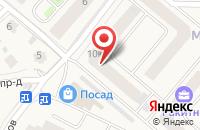Схема проезда до компании Частный риэлтор Грудин ВИ в Звенигороде