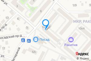 Снять однокомнатную квартиру в Звенигороде Одинцовский г.о., пр. Ветеранов, 10к1