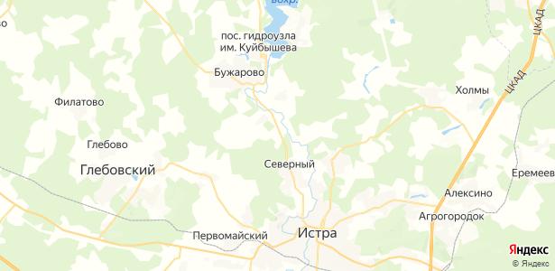 Бабкино на карте