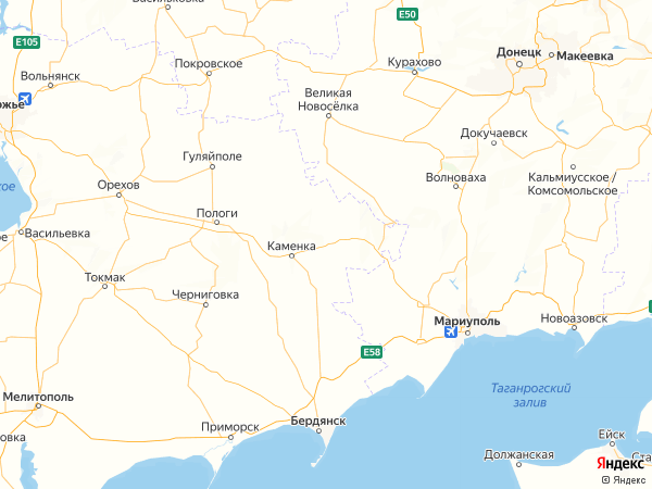 село Вершина на карте