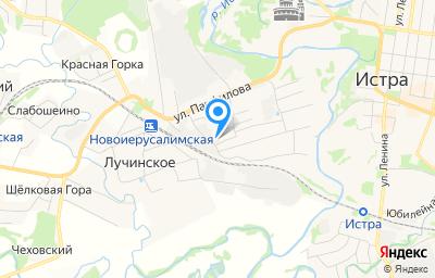 Местоположение на карте пункта техосмотра по адресу Московская обл, г Истра, ул 2-я Первомайская, д 19