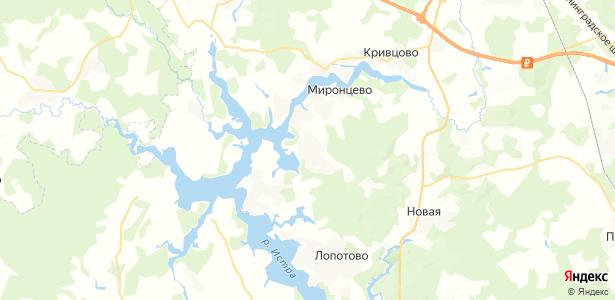 Бережки на карте