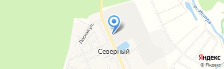 Навесоф на карте Бабкиного