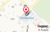 Схема проезда до компании Торговая компания в Звенигороде