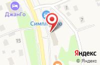 Схема проезда до компании Магнит-Косметик в Северном