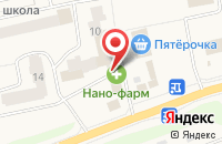 Схема проезда до компании МегаФон в Часцах