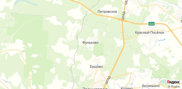 Фуньково на карте