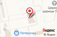 Схема проезда до компании Почтовое отделение №143060 в Часцах