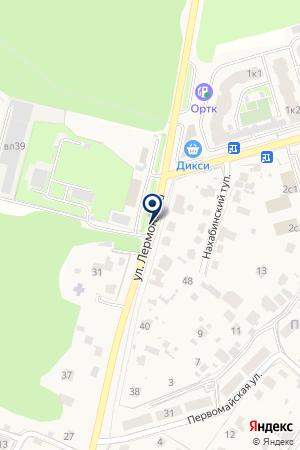 ПАНСИОНАТ ЗВЕНИГОРОД на карте Звенигорода