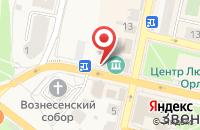 Схема проезда до компании Maribel в Звенигороде