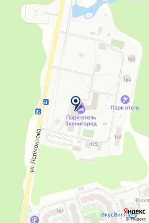 ПАНСИОНАТ ГЕЛИОПАРК ТАЛАССО КЛАБ ОТЕЛЬ на карте Звенигорода