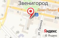 Схема проезда до компании Шарм в Звенигороде