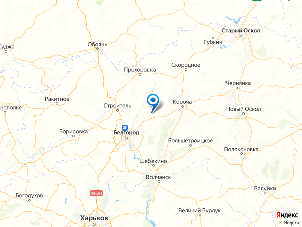 хутор Раевка на карте
