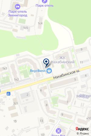 ЗВЕНИГОРОДСКАЯ РЭС на карте Звенигорода
