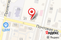 Схема проезда до компании Почтовое отделение №143180 в Звенигороде