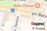 Схема проезда до компании Фонбет в Звенигороде