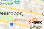 Схема проезда до компании Киоск фастфудной продукции в Звенигороде
