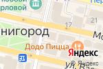 Схема проезда до компании Qiwi в Звенигороде