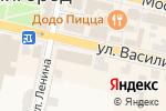 Схема проезда до компании Мебель Звенигорода в Звенигороде