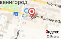 Схема проезда до компании Цифра в Звенигороде