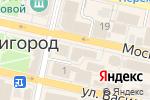 Схема проезда до компании Связной в Звенигороде
