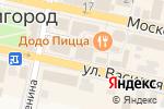 Схема проезда до компании Куриный дом в Звенигороде