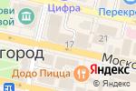 Схема проезда до компании Л`Этуаль в Звенигороде