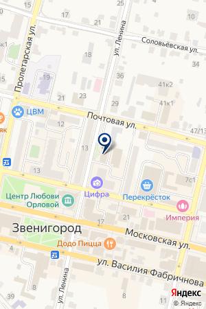 МУНИЦАЛЬНОЕ ОБРАЗОВАНИЕ Г. ЗВЕНИГОРОДА на карте Звенигорода