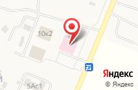 Схема проезда до компании Ершовская сельская амбулатория в Ершово