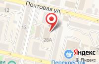 Схема проезда до компании ЖКХ Заречье в Мозжинке