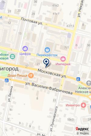 ДЕЗ Г. ЗВЕНИГОРОДА на карте Звенигорода