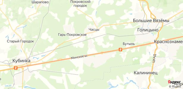 Петелино на карте
