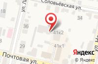 Схема проезда до компании УникУм в Звенигороде