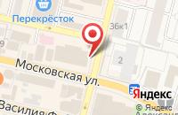 Схема проезда до компании Кадастровый инженер в Звенигороде