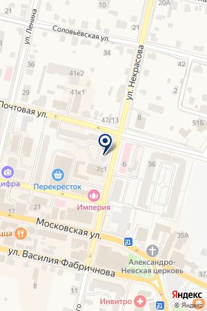 ТУРИЗМУ И ДЕЛАМ МОЛОДЕЖИ КОМИТЕТ ПО КУЛЬТУРЕ на карте Звенигорода