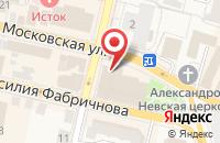 Схема проезда до компании Flower Magic в Звенигороде