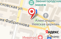 Схема проезда до компании Gold Limo в Звенигороде