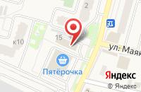 Схема проезда до компании Салон штор в Звенигороде