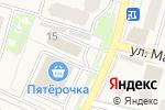 Схема проезда до компании Магазин дверей в Звенигороде