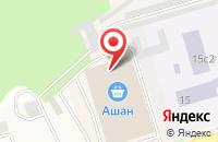 Схема проезда до компании Mybox в Мозжинке
