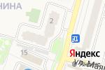 Схема проезда до компании Бургер Хауз в Звенигороде