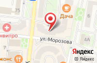 Схема проезда до компании Падиково в Истре