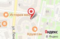 Схема проезда до компании АЙКРАФТ в Истре