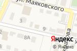 Схема проезда до компании Нотариус Петрикэ Н.Г. в Звенигороде